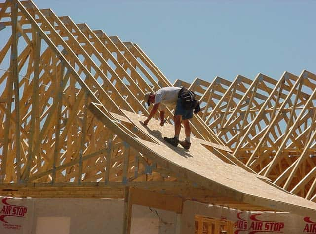 Wood roof trusses roof trusses design building trusses for Custom home build calculator