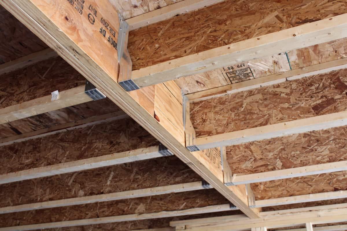 Specialty wood trusses engineered beams
