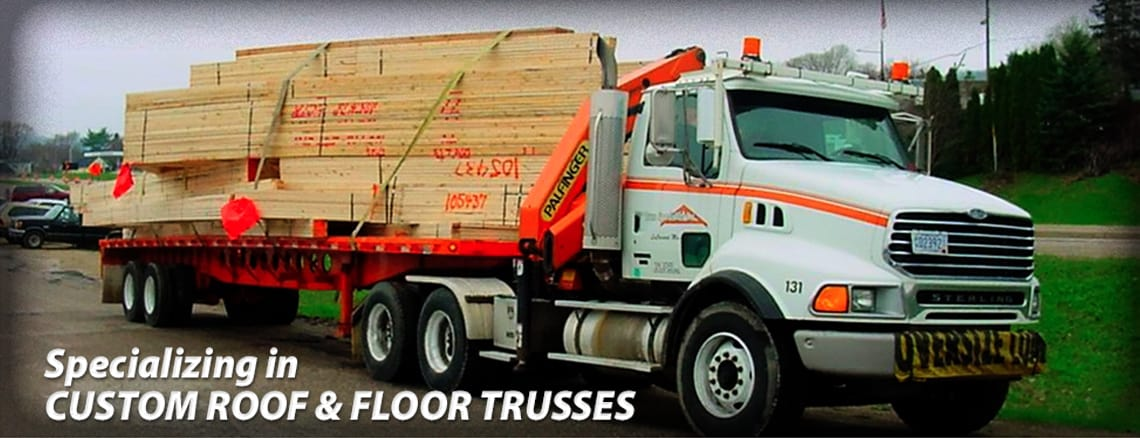 Truss specialists wood roof trusses floor trusses for Custom roof trusses